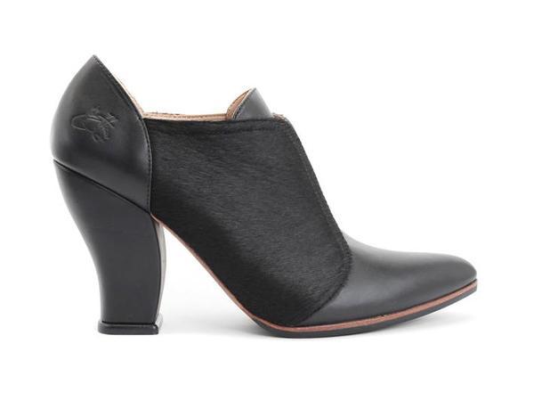 Danni Slip-on Leather Heel