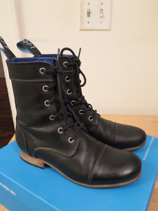 Radio Lace-up Short Boot - Worn Twice