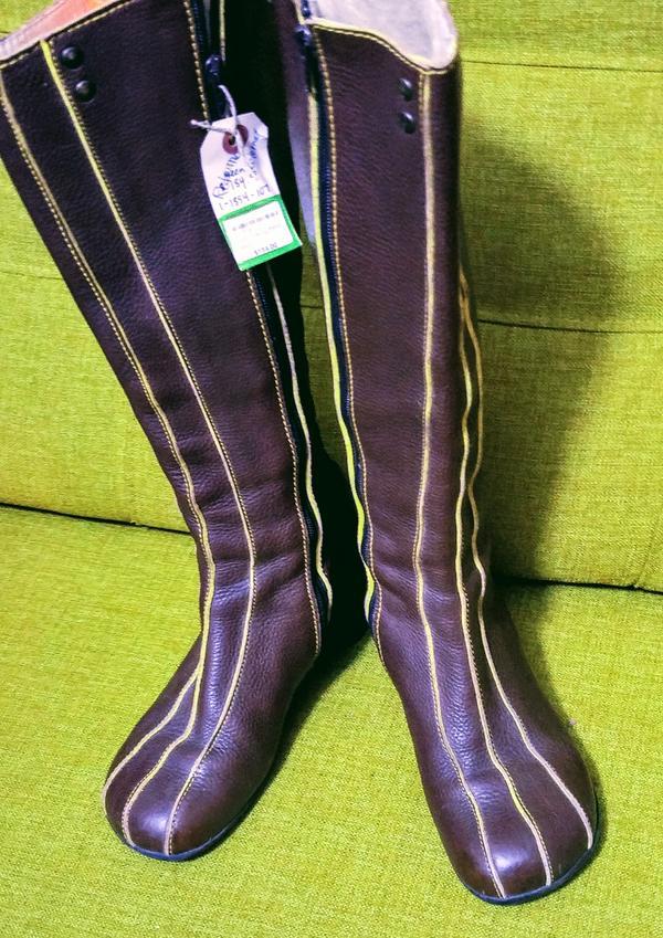 Minstrel boots (tall)