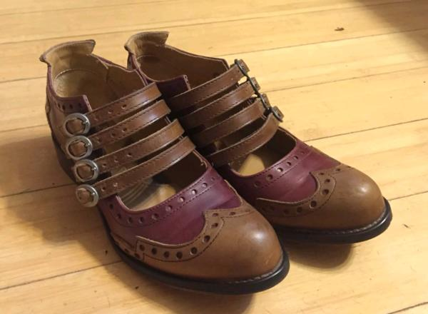 ADRIANS Family: ALLI 4 BUCKLE MARY JANES SHOES