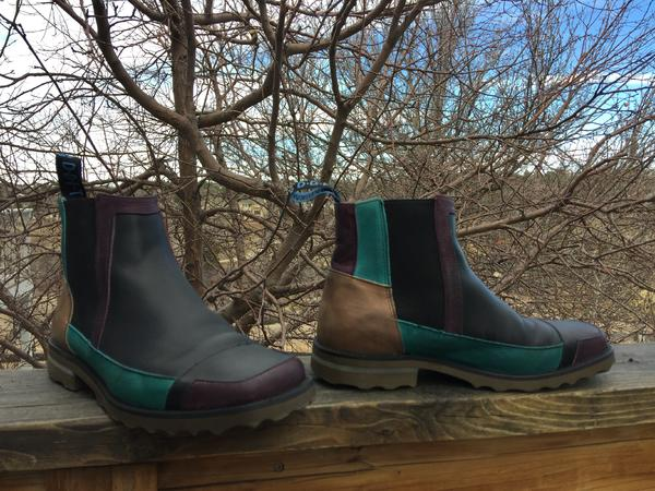 Inter Cooler Multi-Toned Chelsea Boot