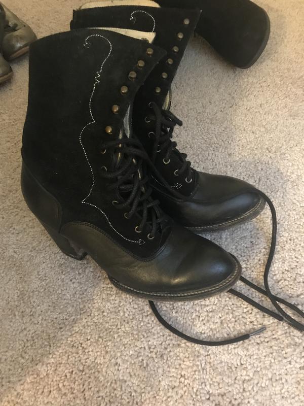 Black Monday boots