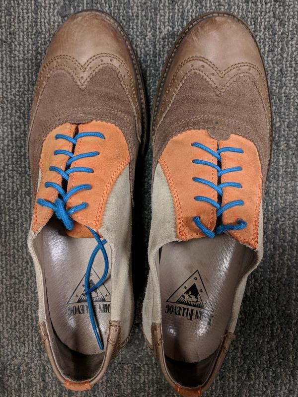 Fluevog Lace Up Oxfords (don't know the name!)