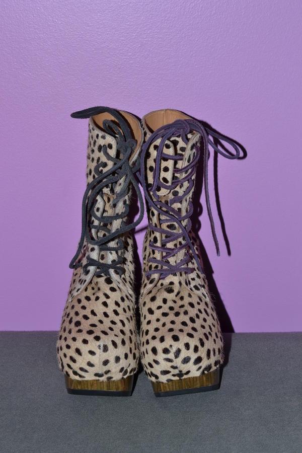 ARC Rainbow Boot (Cheetah Print) - NEVER WORN
