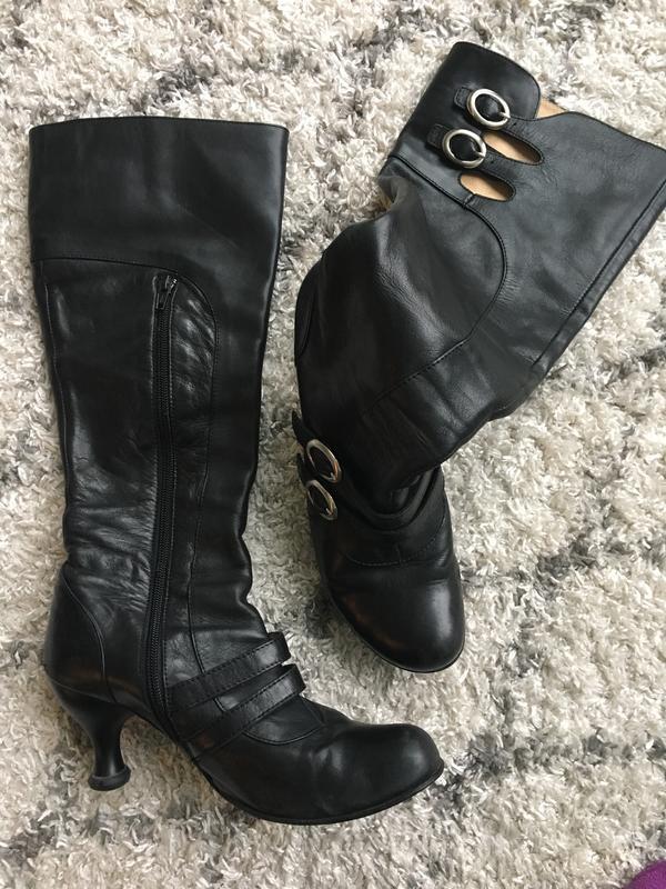 Bellevue Mattie Silks Black Boots