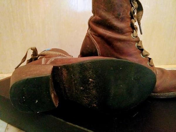 Nuni brown boots
