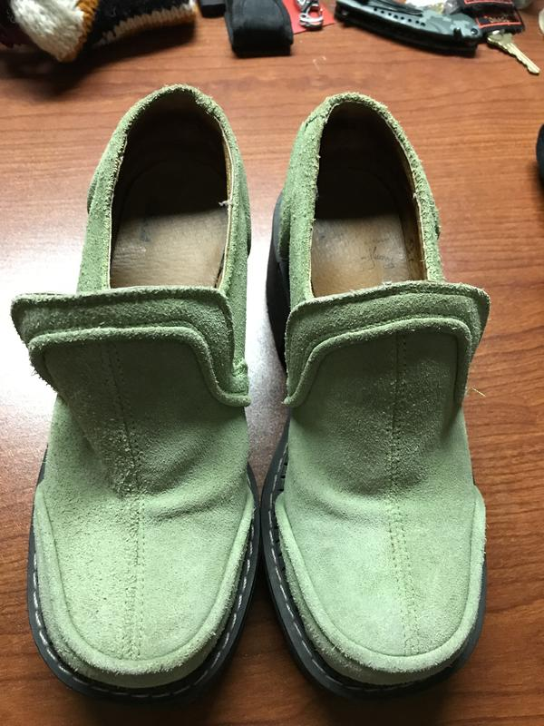Vintage Green F Sole