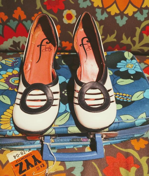 Friendship Wedge Heels - Rehomed