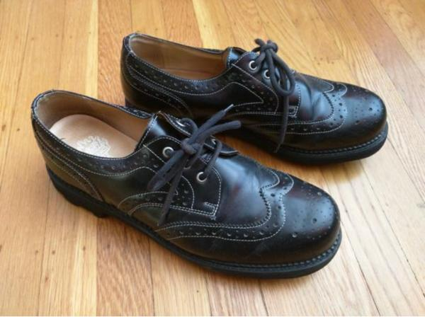 ANGELS: MICHAEL BROGUE WINGTIP OXFORDS SHOES