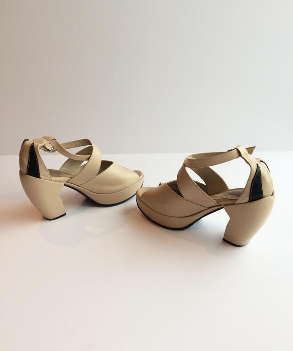 Vintage Ladies Platform Shoes