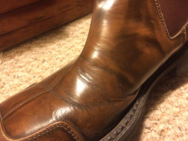 Square Toes mens boots