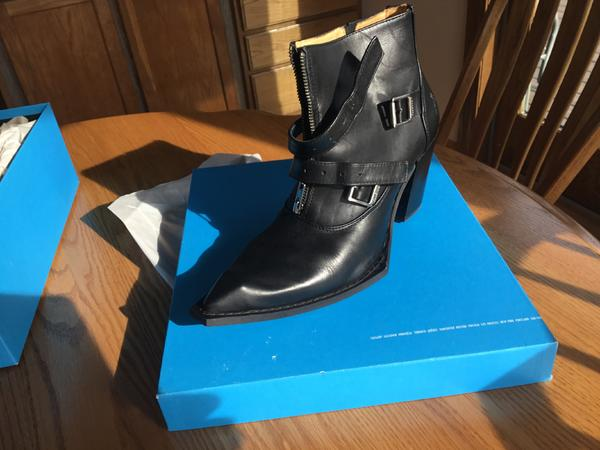 Swordfish Buckle Ankle Boot