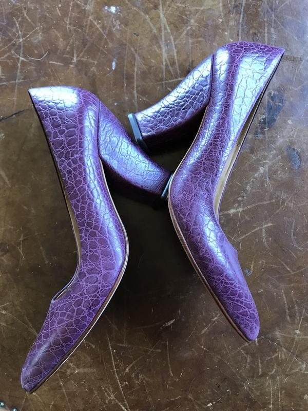 Purple Gail Pumps Heels 7.5. New without box