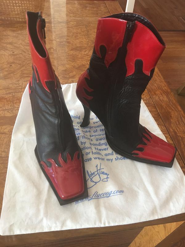 Buffy Flame Boot
