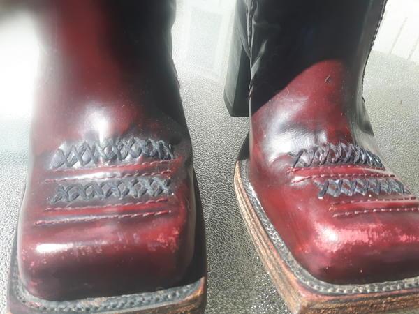 Retro Gogo Biker Boots
