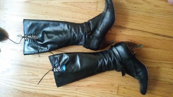 Fluevog Teapot tall boots