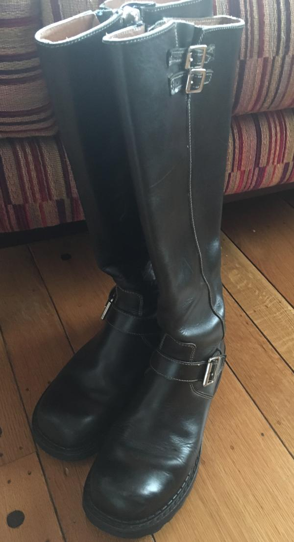 Bond Girl Tall Boots, Size 8