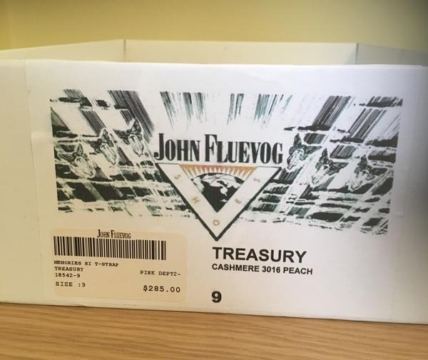Fluevog Treasury Heels