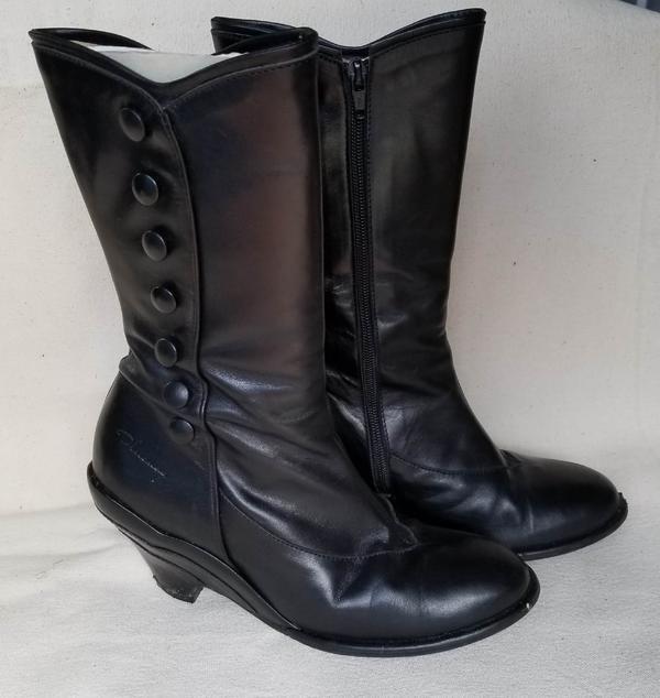 Miss December Pinup Boots