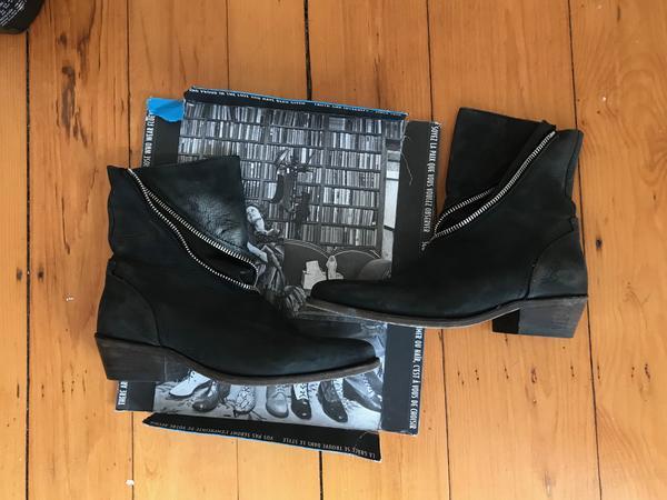 Ruth Skin Spiral Zip Boot