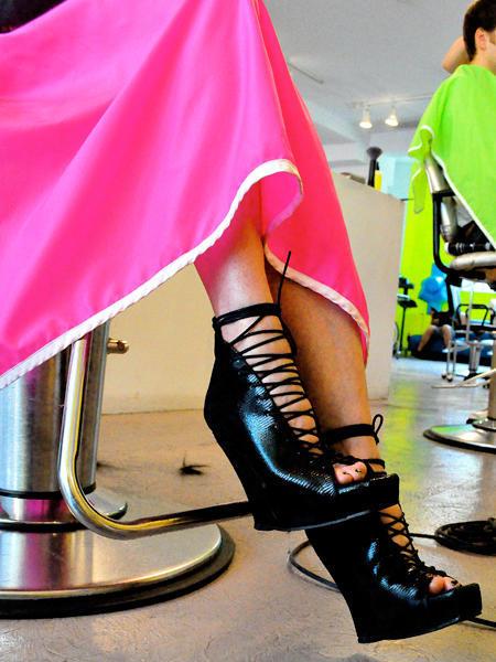 LA Signature Series - Sexy Corset Sandal