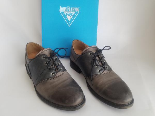FEATURE CAGNEY CONTRAST LACE-UP DERBY