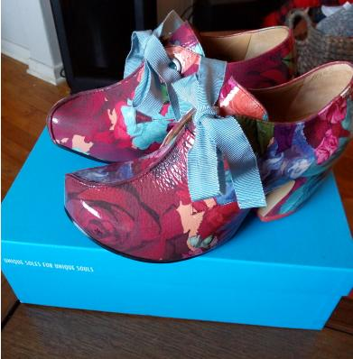 Signed Pledge Floral Shoes Brand NEW