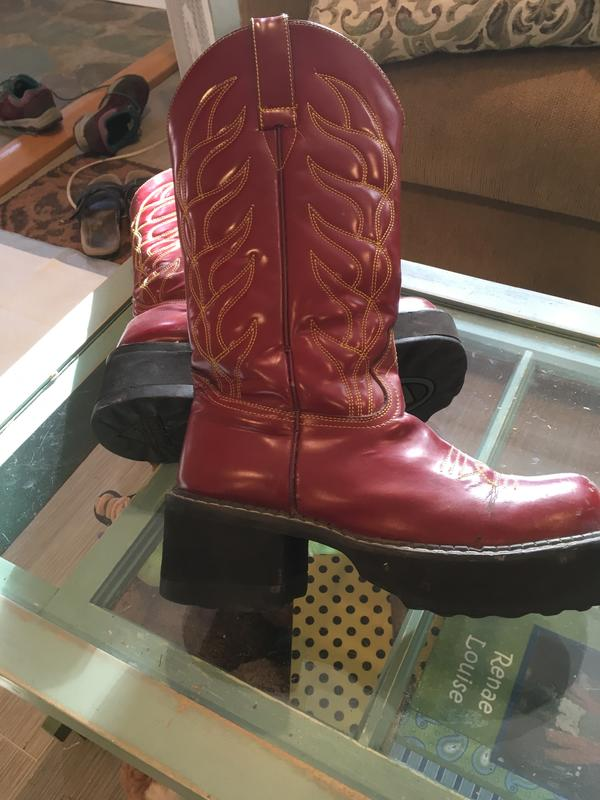 Cowboy boots Red 9