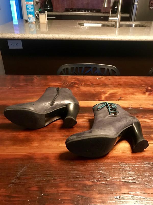 Enchanting boots Dark Grey 9 1/2