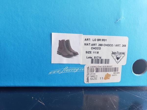 LIVING: LOCKE boots Colour: Brown 11