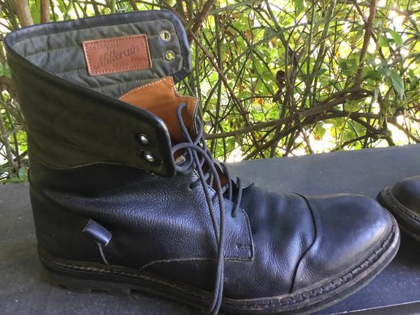Men's 10.5 Jose combat boots Black 10 1/2