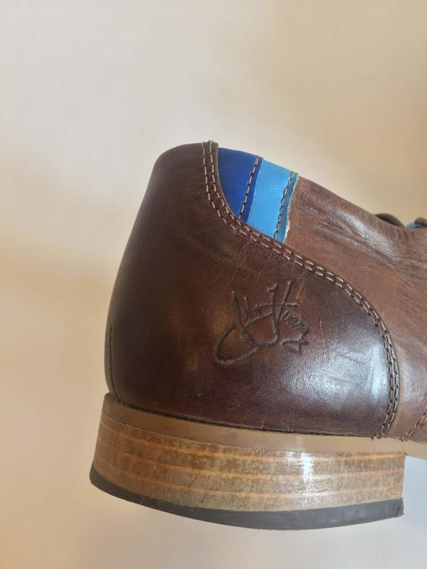 """CBC"" Leather Oxford Shoe"