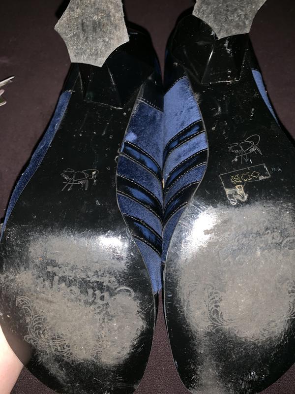 Fluevog Reubens 11 blue