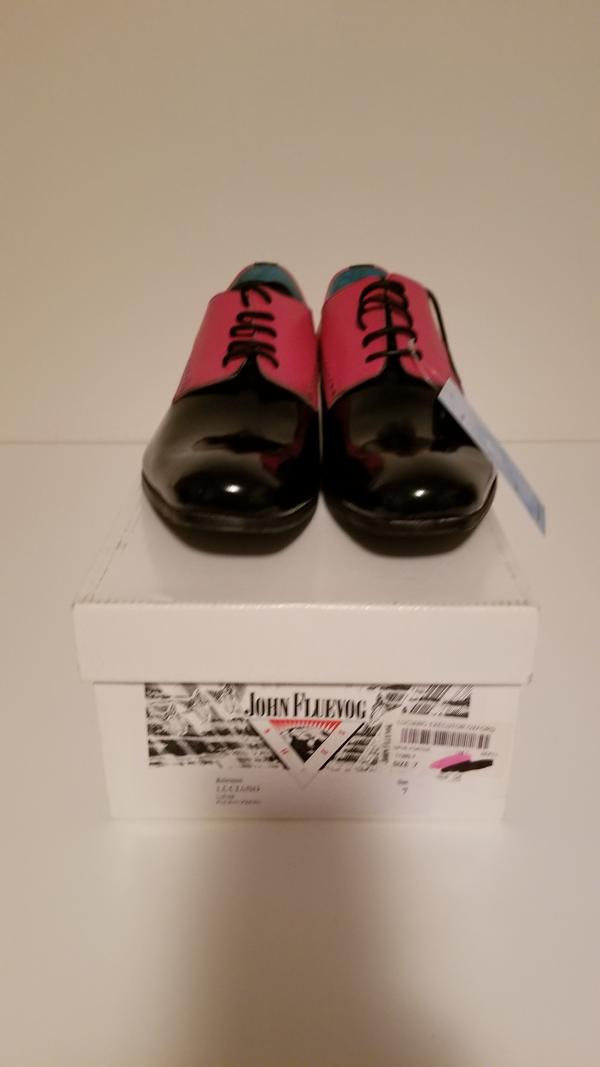 Luciano Black and Pink 8 1/2