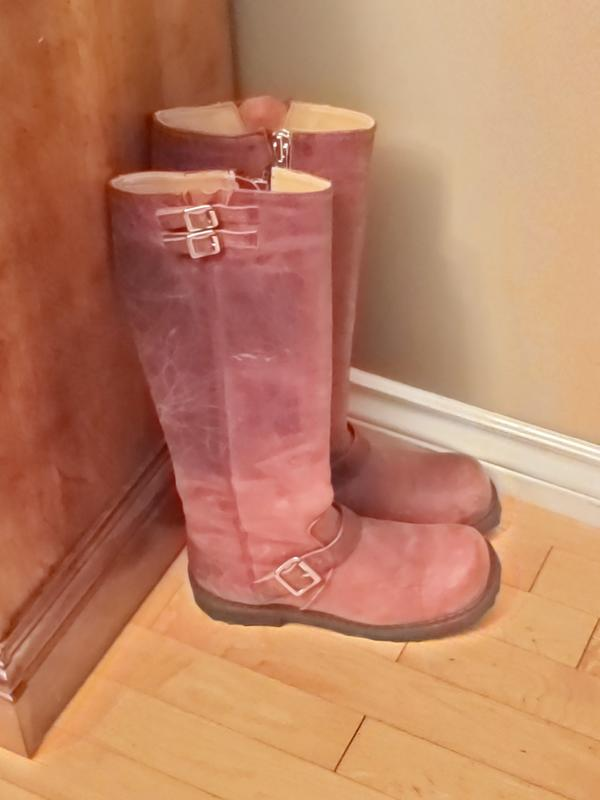 Tall boot Red 7 1/2