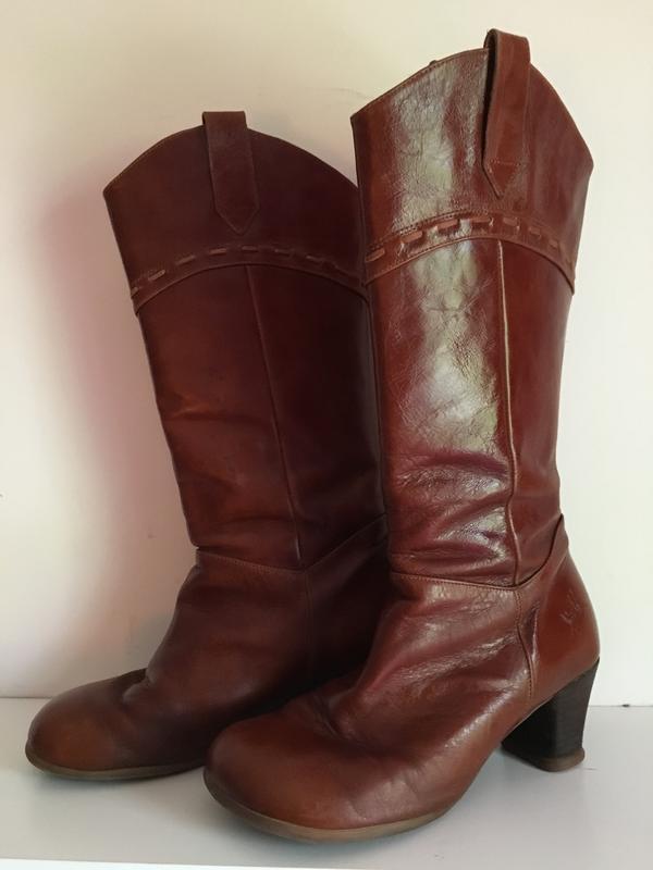 Operetta Argolo Western-style boots sz 8 Brown 8