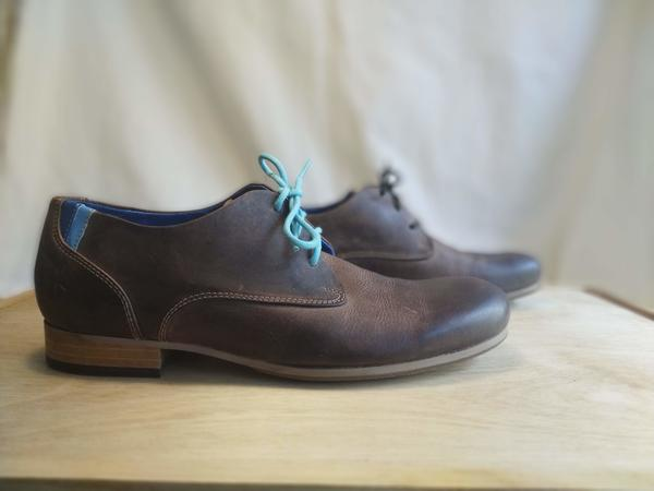 CBC Men's 9 Brown Leather/Suede 9