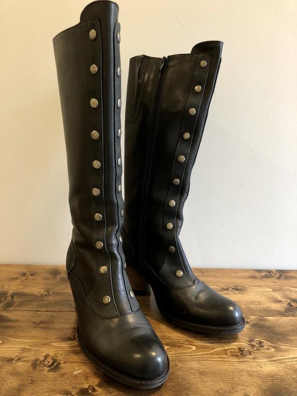 Mezzo Tall Boot Dallas - 9.5 Black 9 1/2