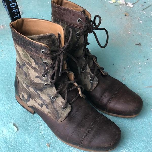 bbc boots in camo Camouflage 8