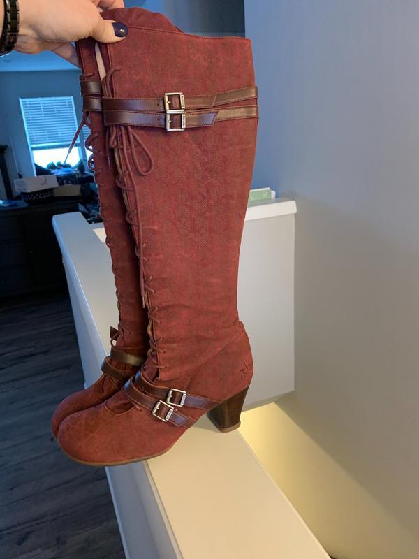Operetta Hjordis Boots Red 9 1/2