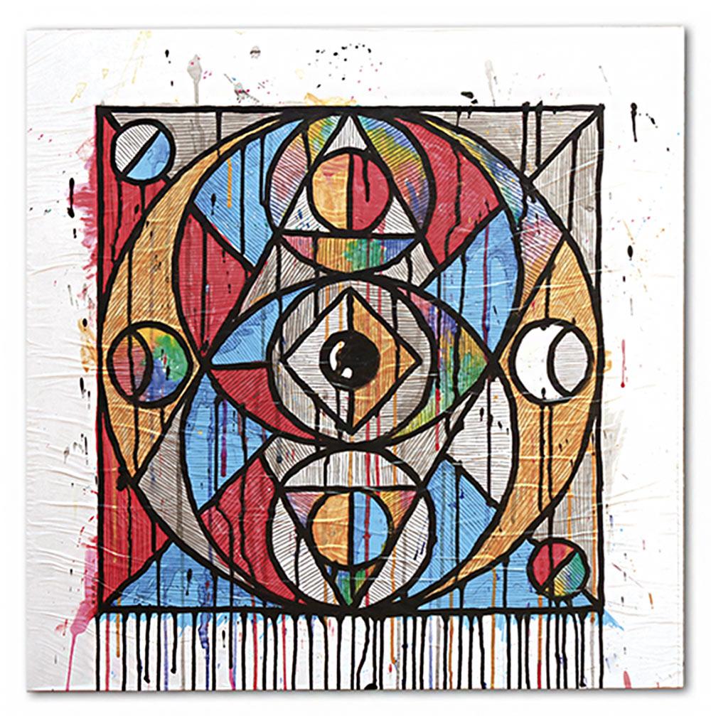 w-geometric-painting