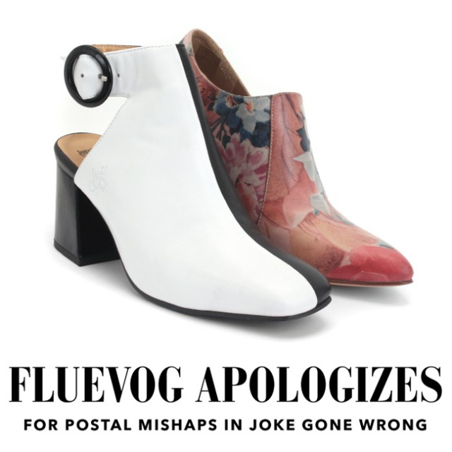 Fluevog Apology…