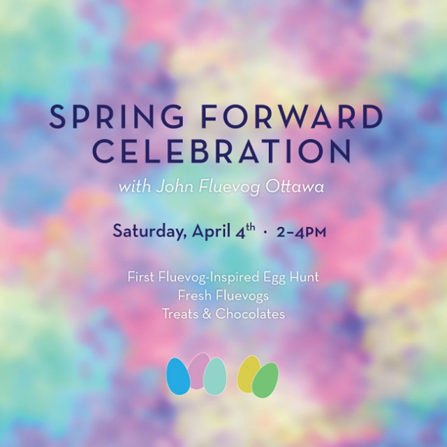 Spring Forward Celebration at Fluevog Ottawa