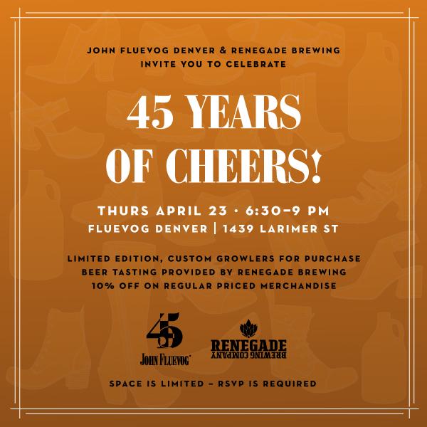 Celebrating 45 Years of Cheers in Denver