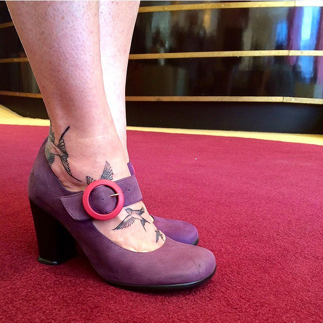 You definitely need not be a soprano to rock these limited edition purple CAREYS. Get a pair before they're gone in select st…