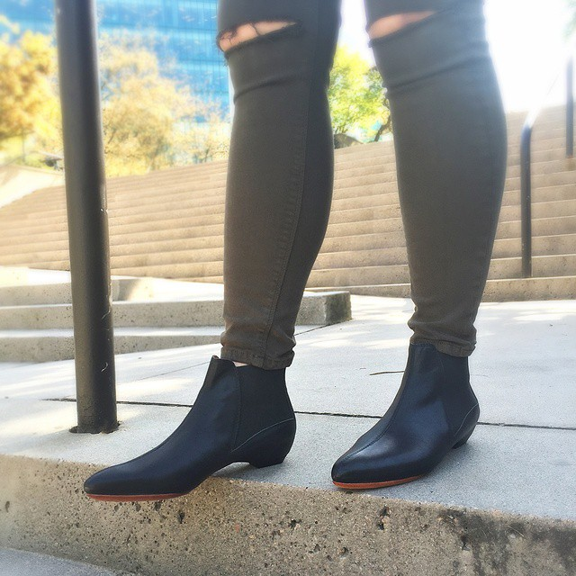 Take a classic chelsea boot and turn the power way up to get these super slick ELECTRICITY boots, available in stores and onl…