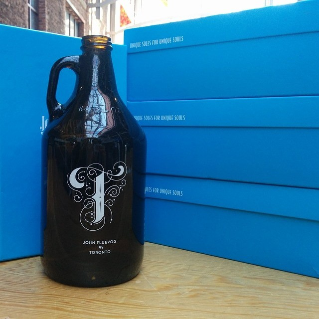 Get your custom, Fluevog TORONTO growler TONIGHT at 4 Trinity St in the Distillery District! Join us for 45 Years of Cheers a…