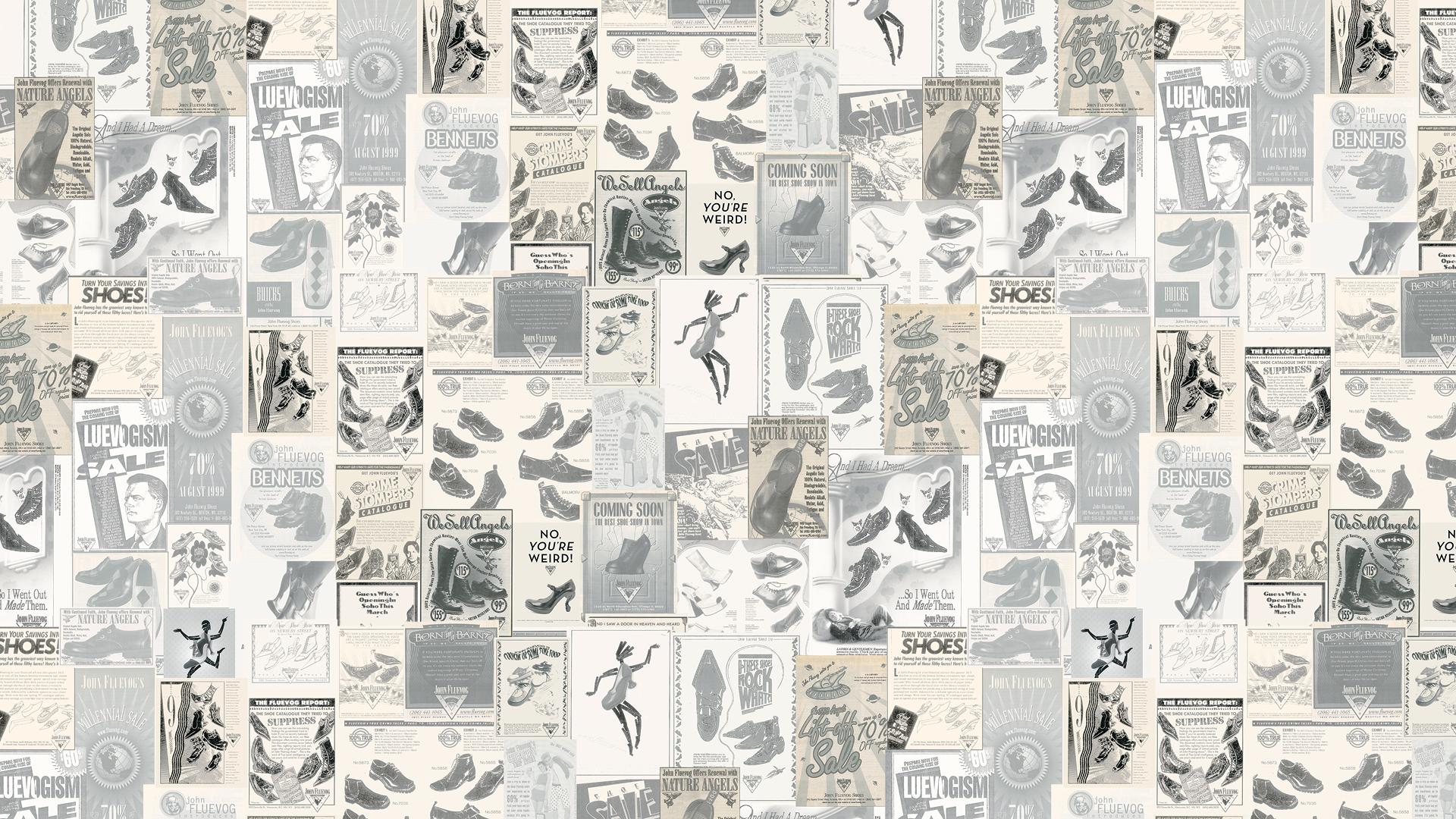 1080 x 1920 advertising wallpaper: Vintage Ads Wallpaper