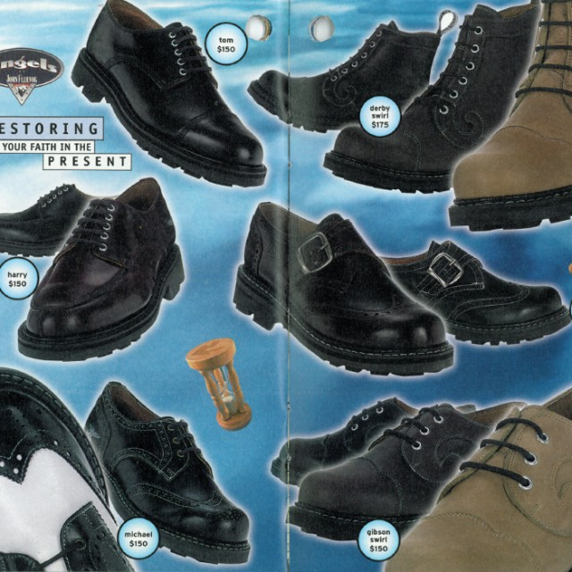 Way Back Wednesday: John Fluevog Takes Time for Your Sole