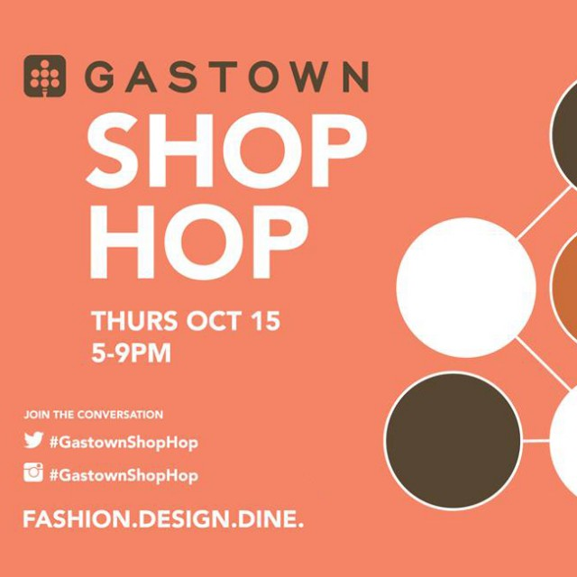 Gastown Shop Hop Fall 2015